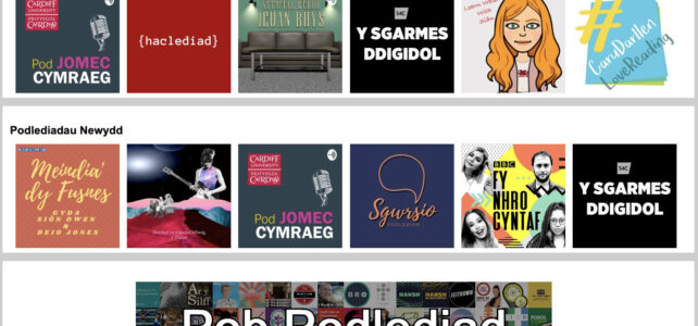 Discovering Welsh Language Podcasts