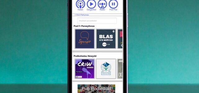 Y Pod - Welsh language podcast app